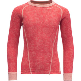 Devold Duo Active Shirt Kinderen, poppy